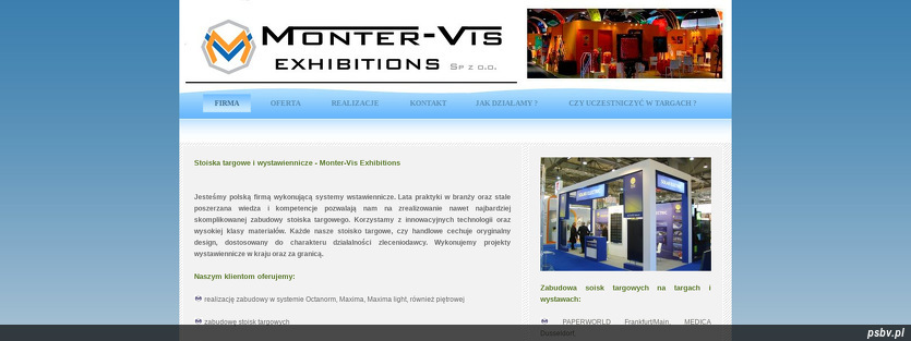 MONTER-VIS EXHIBITIONS SP. Z O.O.