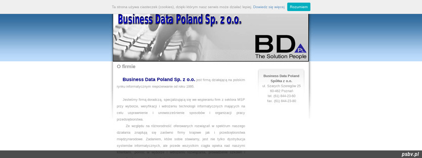BUSINESS DATA POLAND SP Z O O
